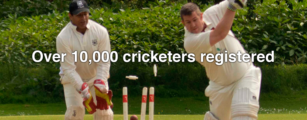 Over 10,000 cricketers registered